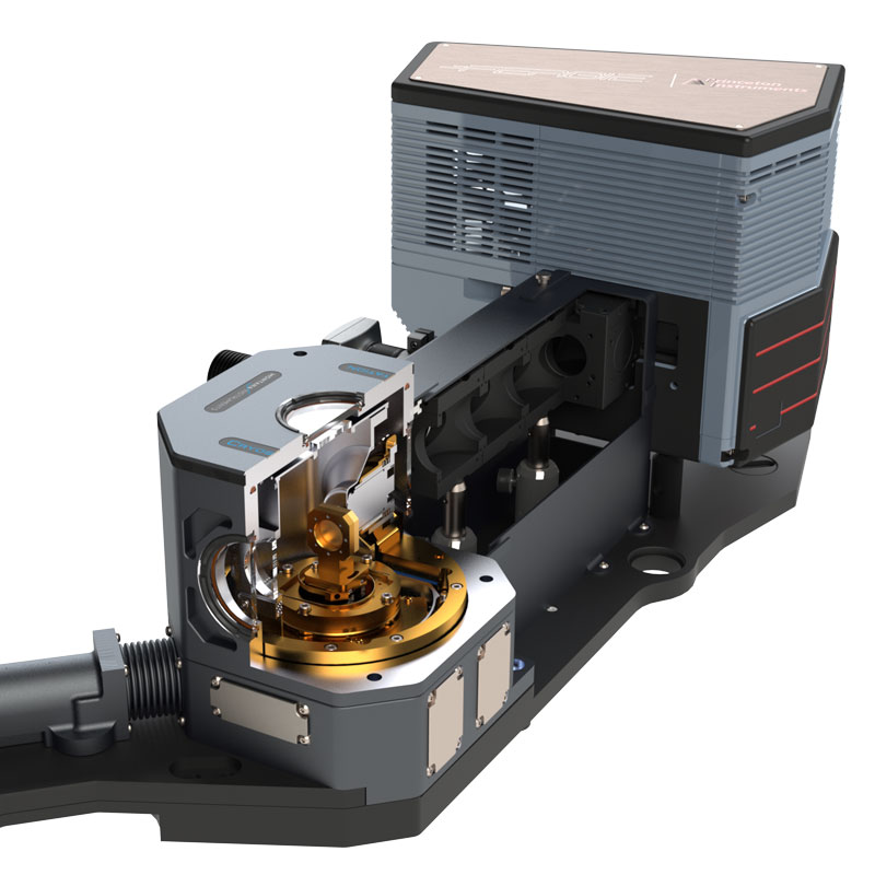 Low-temperature Raman microscope - Low-temperature Raman microscope