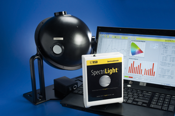 Cost-effective, fully calibrated, turn-key CCD-based spectroradiometer