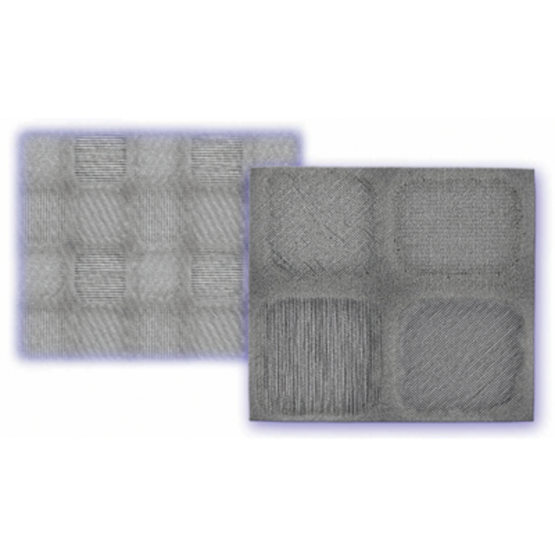 Wire-grid polarizer UV-IR - Pixelated polarizers