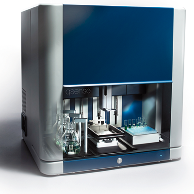 Fully automated quartz crystal microbalance system