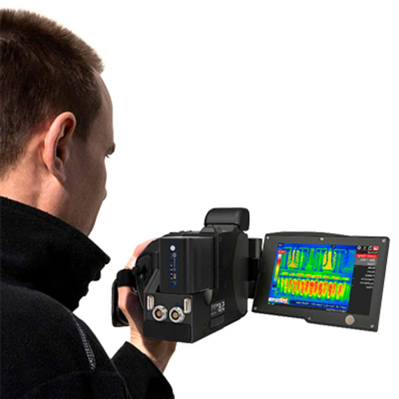 Longwave thermography cameras - Infrared camera models for portable use