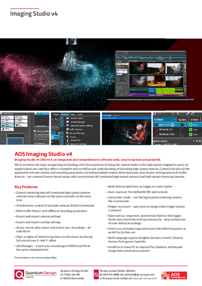 Software Imaging Studio v4