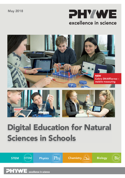 Digital education for natural sciences in schools - catalogue