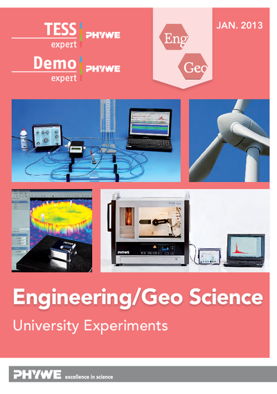 Engineering/Geo Sciences - Laboratory experiments catalogue