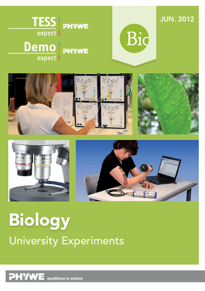 Biology - Laboratory experiments catalogue