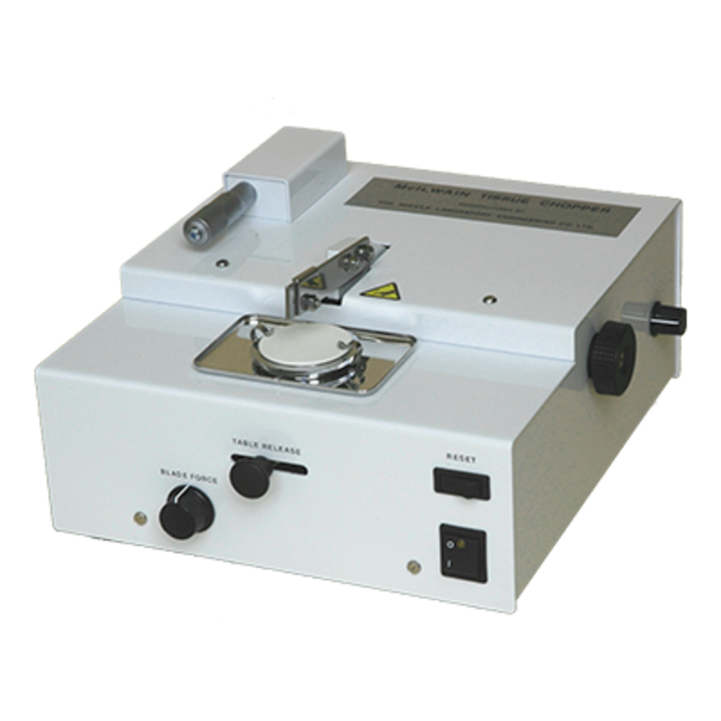 Sample preparation for electron microscopy - Tissue chopper