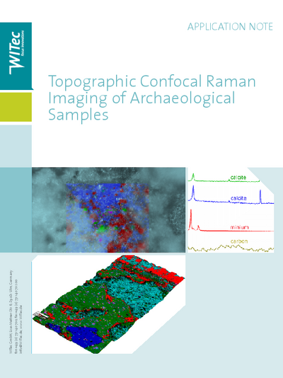Topographic Confocal Raman Imaging of Archaeological Samples - AppNote
