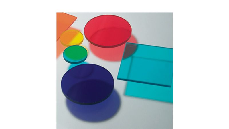 Colored glass filters & sets