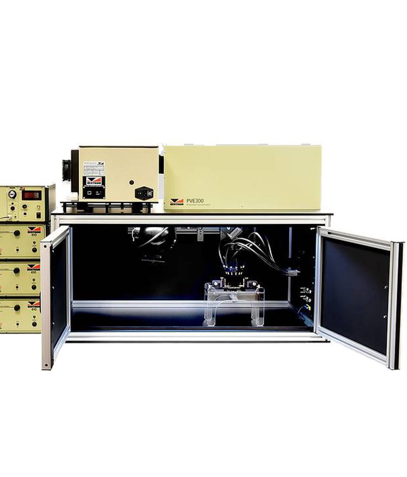 Systems for solar cell characterization - Quantum efficiency measurement station