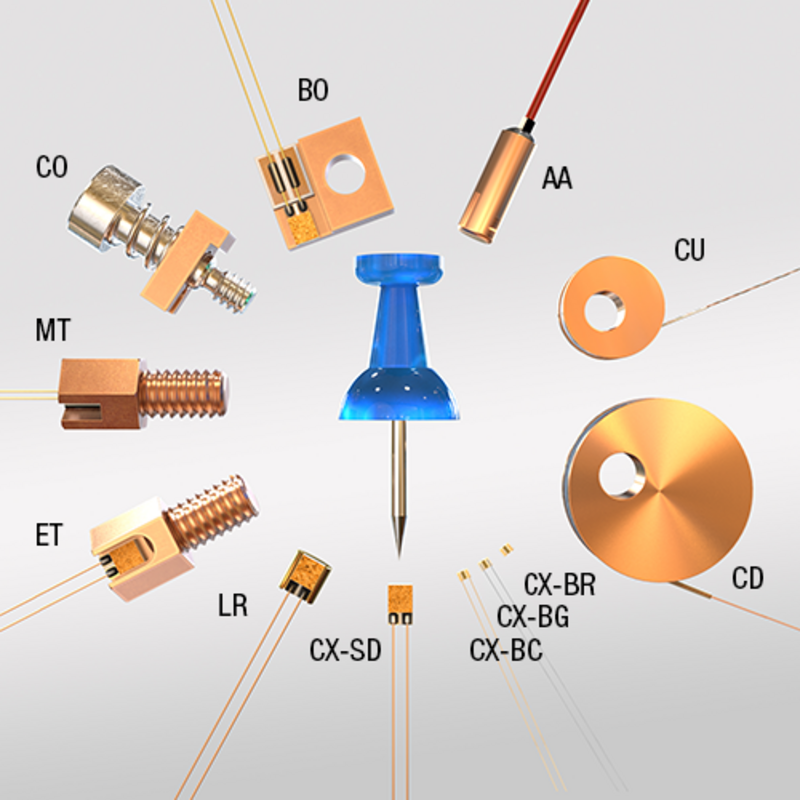 Cryogenic temperature control - Cryogenic Temperature Sensors