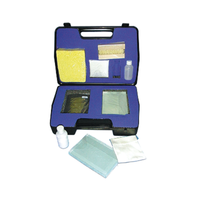 FTIR accessories: gas & solid cells - Window polishing kit