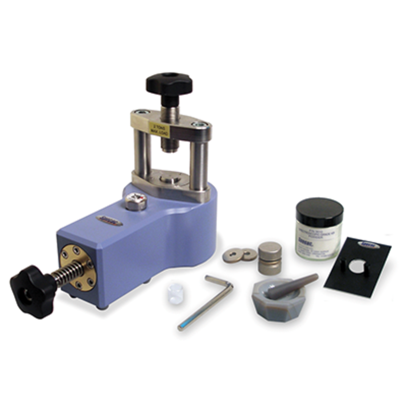 FTIR sample preparation: presses & dies - Mini lab press