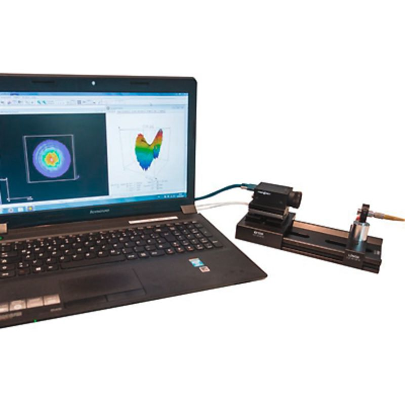Laser beam diagnostics - Laser beam profiler