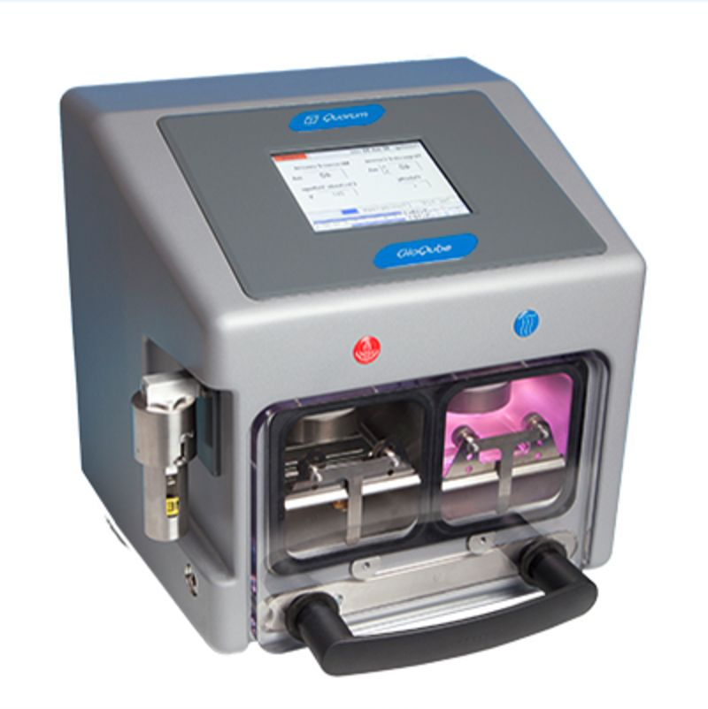 Sample preparation for electron microscopy - GloQube Glow discharge system