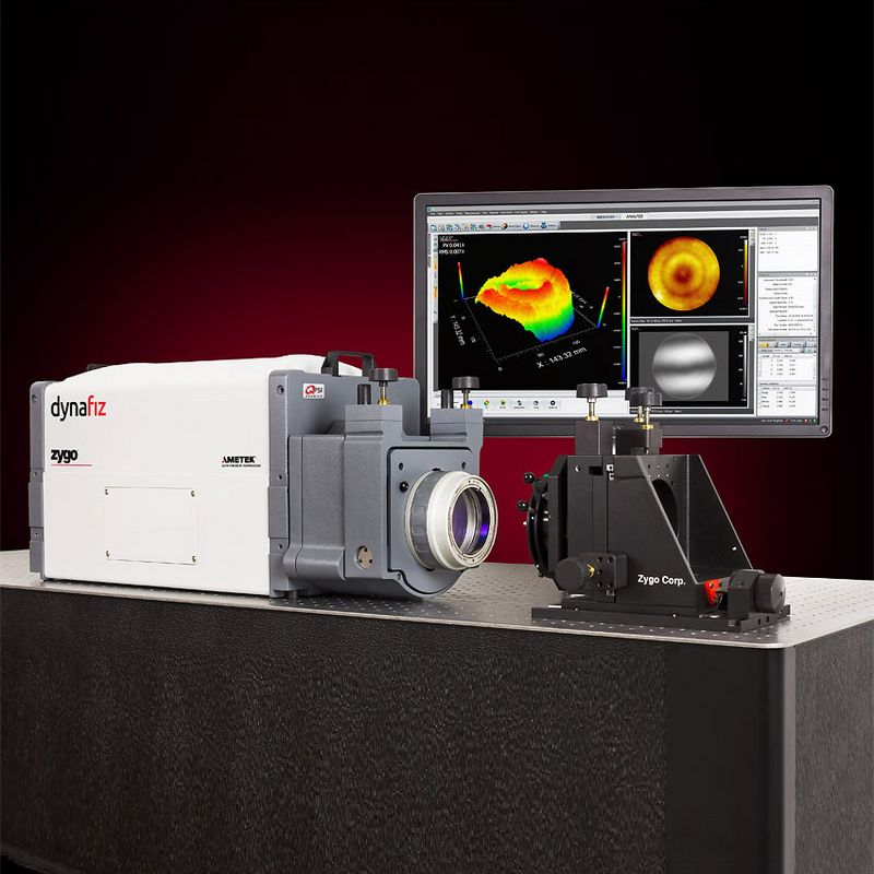 Interferometer systems - Zygo dynamic high resolution Fizeau interferometer