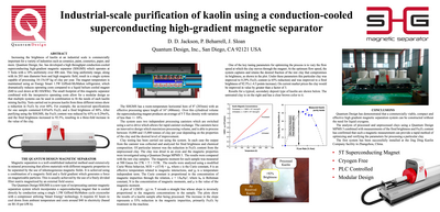 Poster: Industrial-scale purification of kaolin