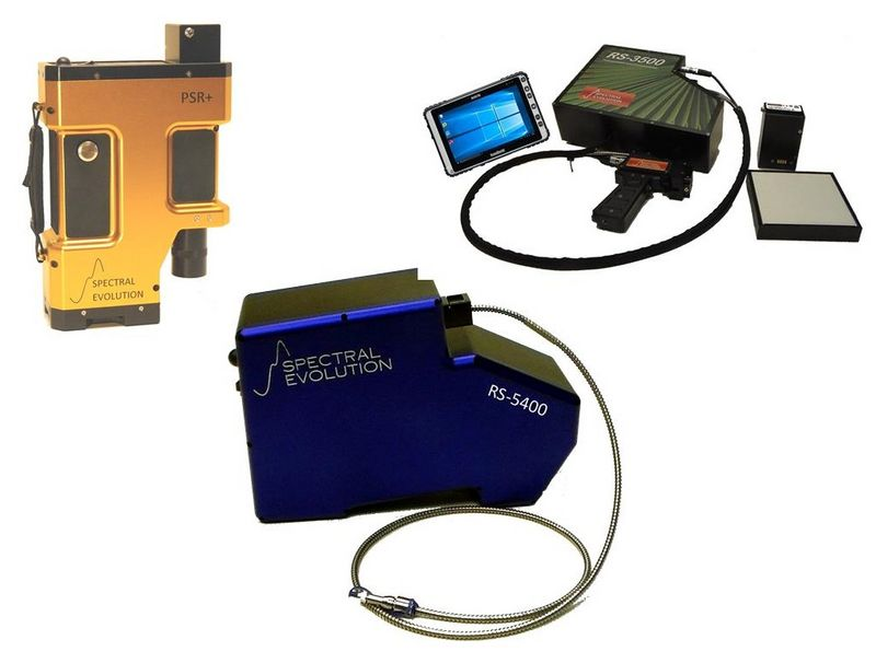 Hyperspectral remote sensing systems - UV-VIS-NIR field portable spectrometers